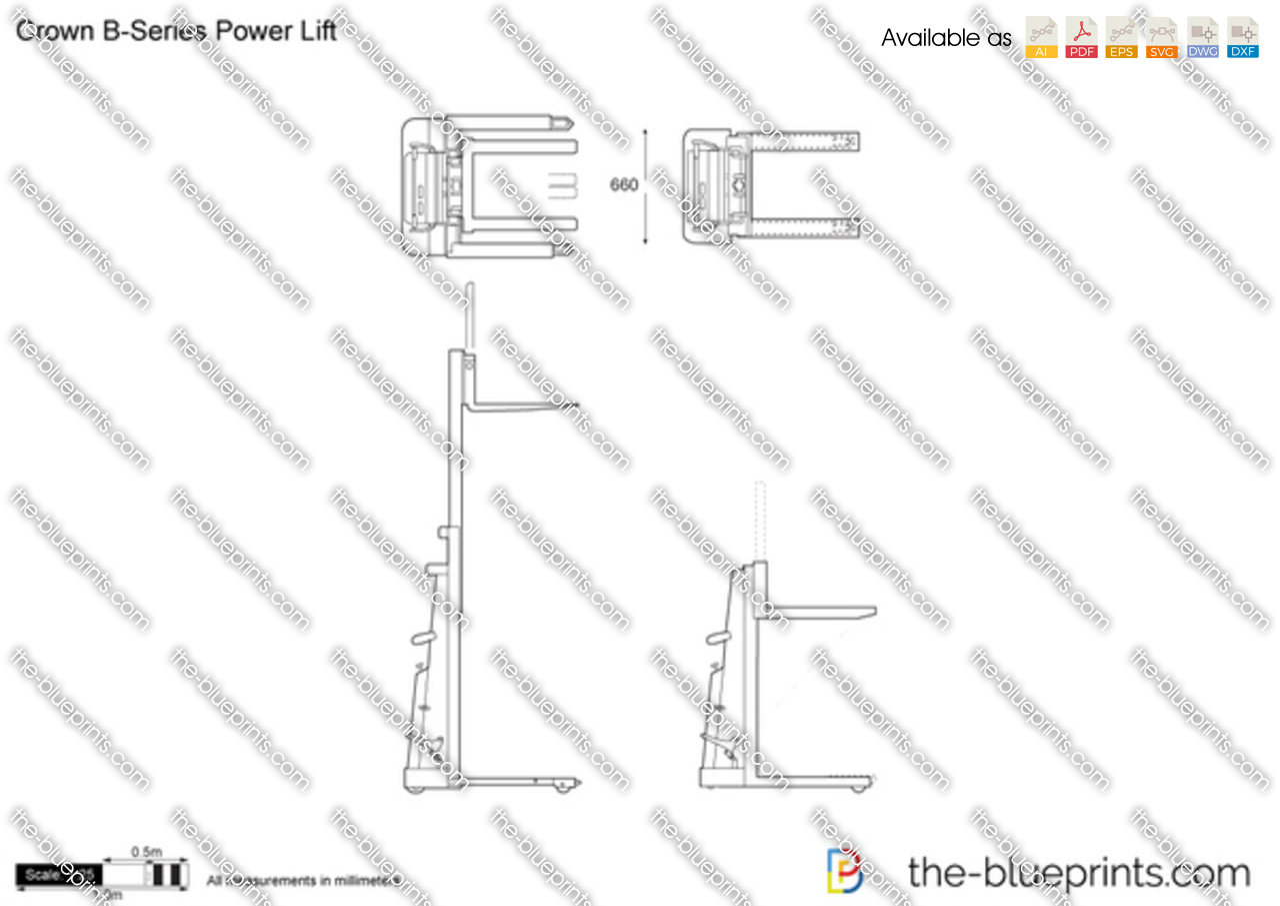 Crown B-Series Power Lift