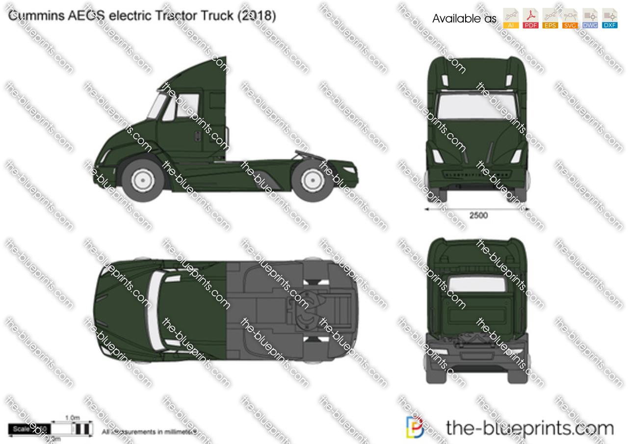Cummins AEOS electric Tractor Truck