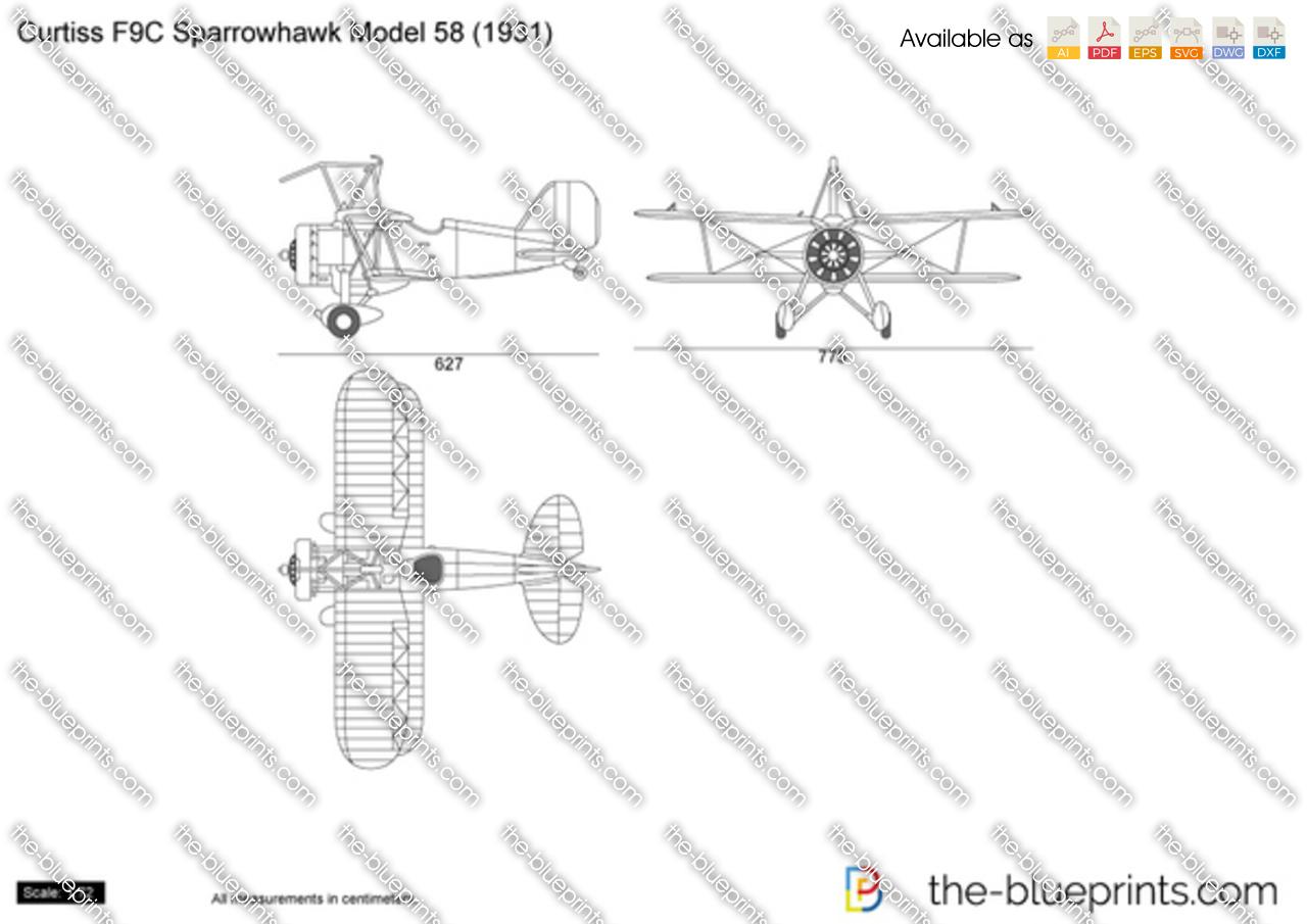 Curtiss F9C Sparrowhawk Model 58