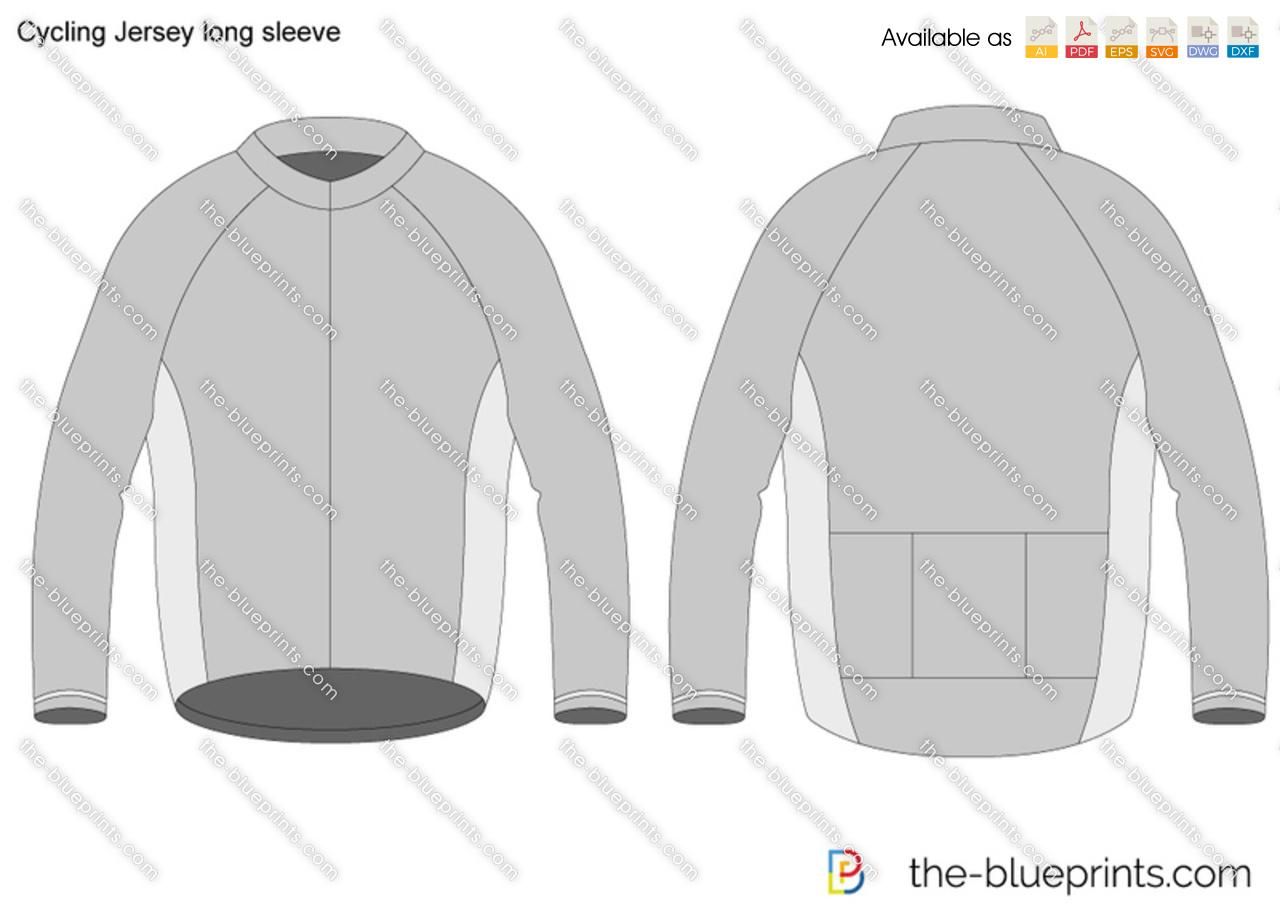 Cycling Jersey long sleeve