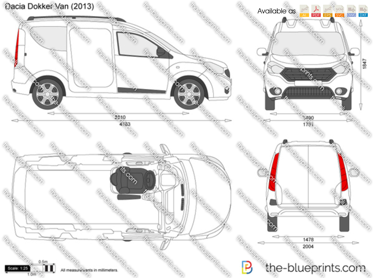 Dacia Dokker Van 2015