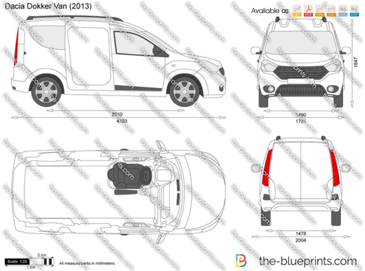 Dacia Dokker Van 2017
