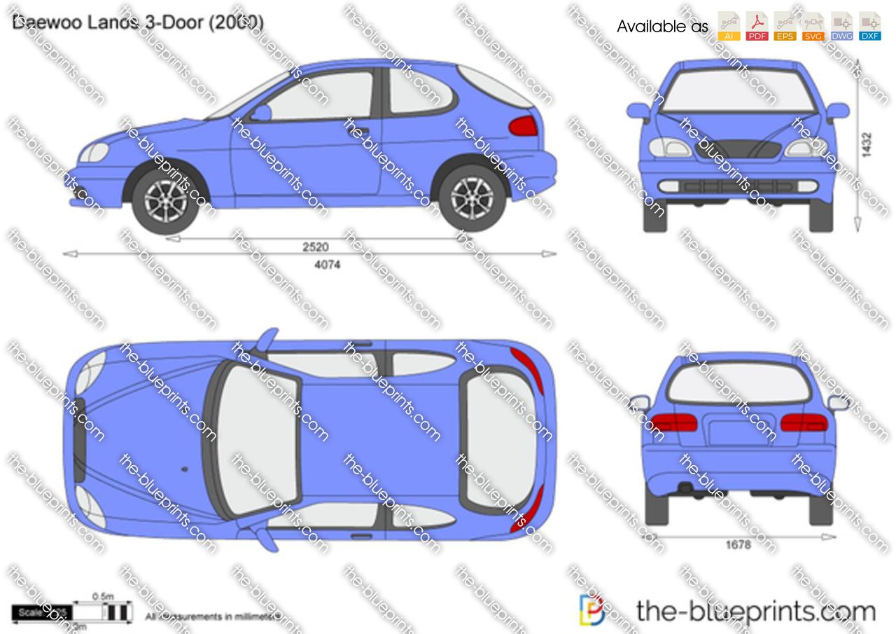 Daewoo Lanos 3-Door