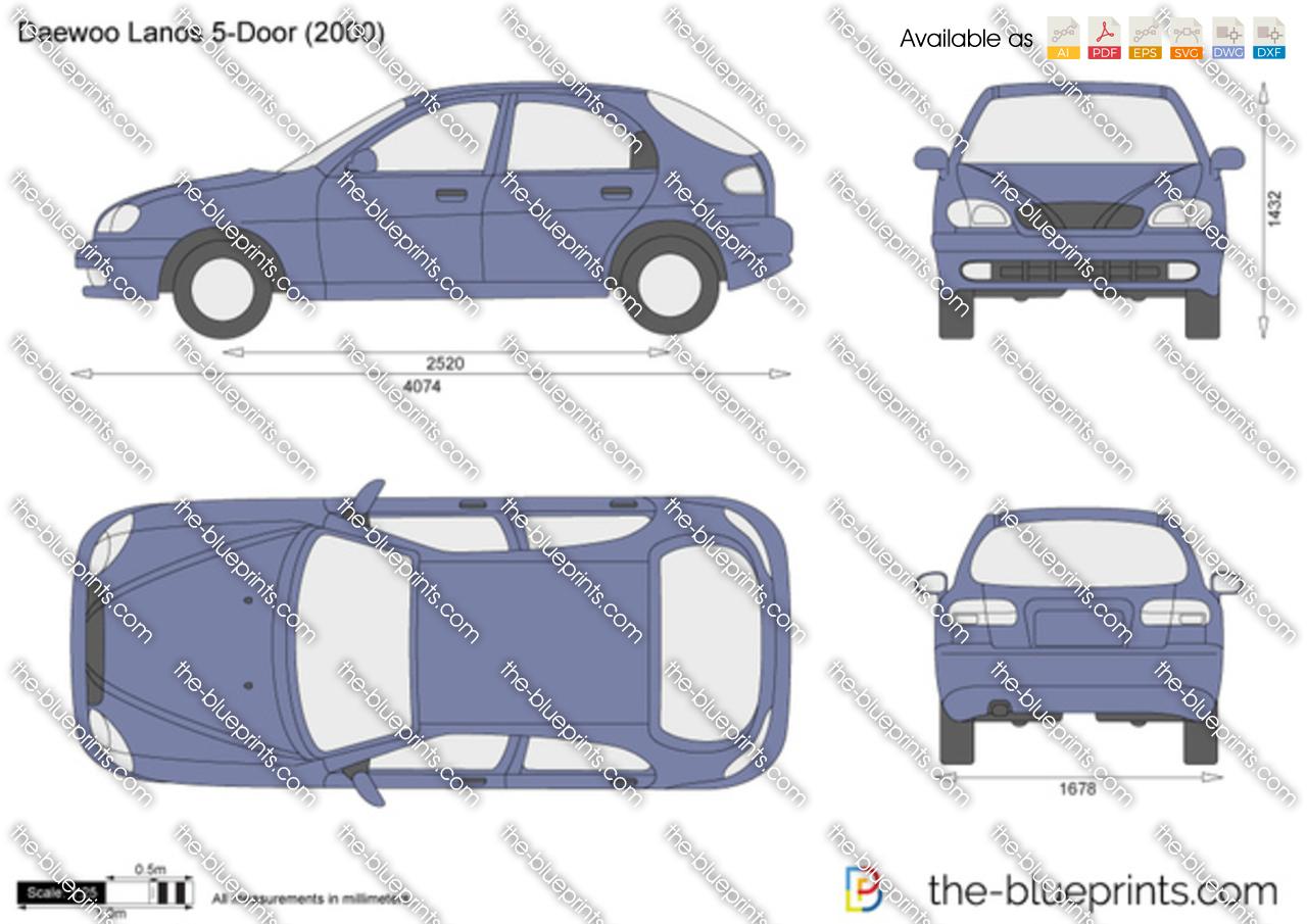 Daewoo Lanos 5-Door