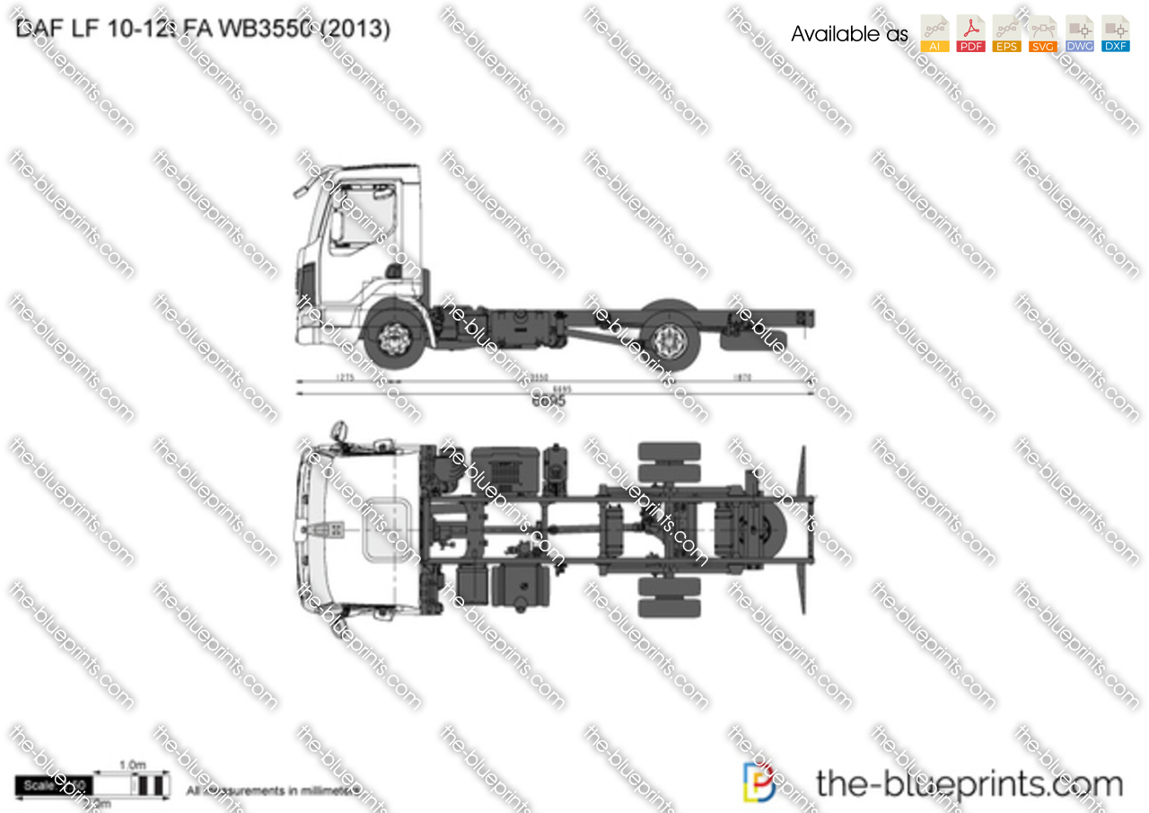 DAF LF 10-12t FA WB3550