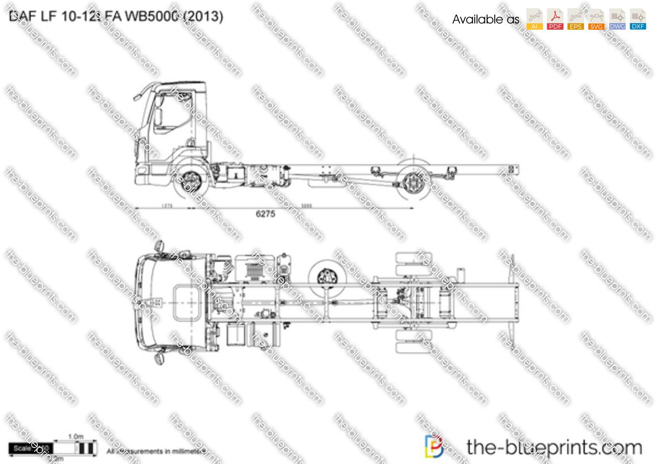DAF LF 10-12t FA WB5000