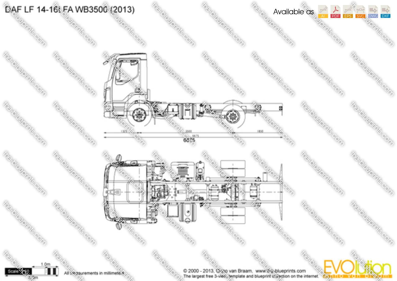 DAF LF 14-16t FA WB3500