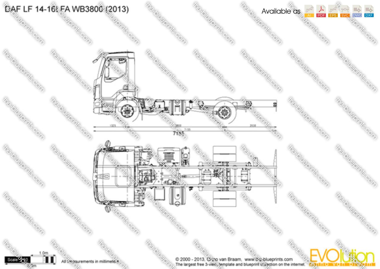 DAF LF 14-16t FA WB3800
