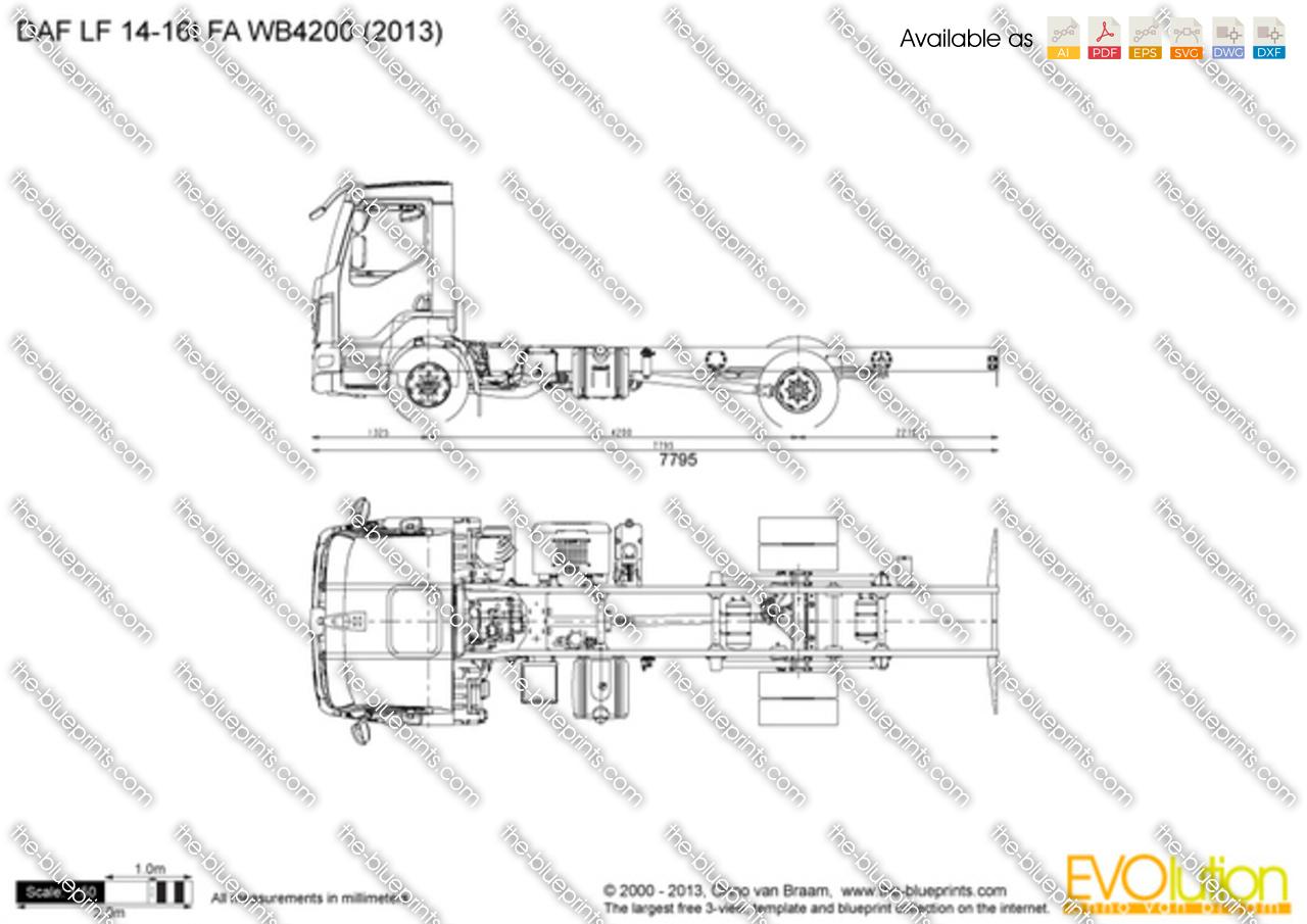 DAF LF 14-16t FA WB4200