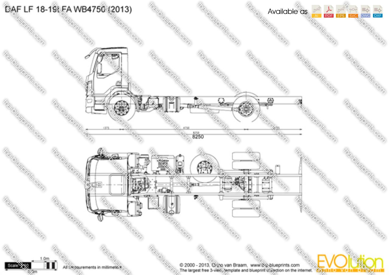 DAF LF 18-19t FA WB4750