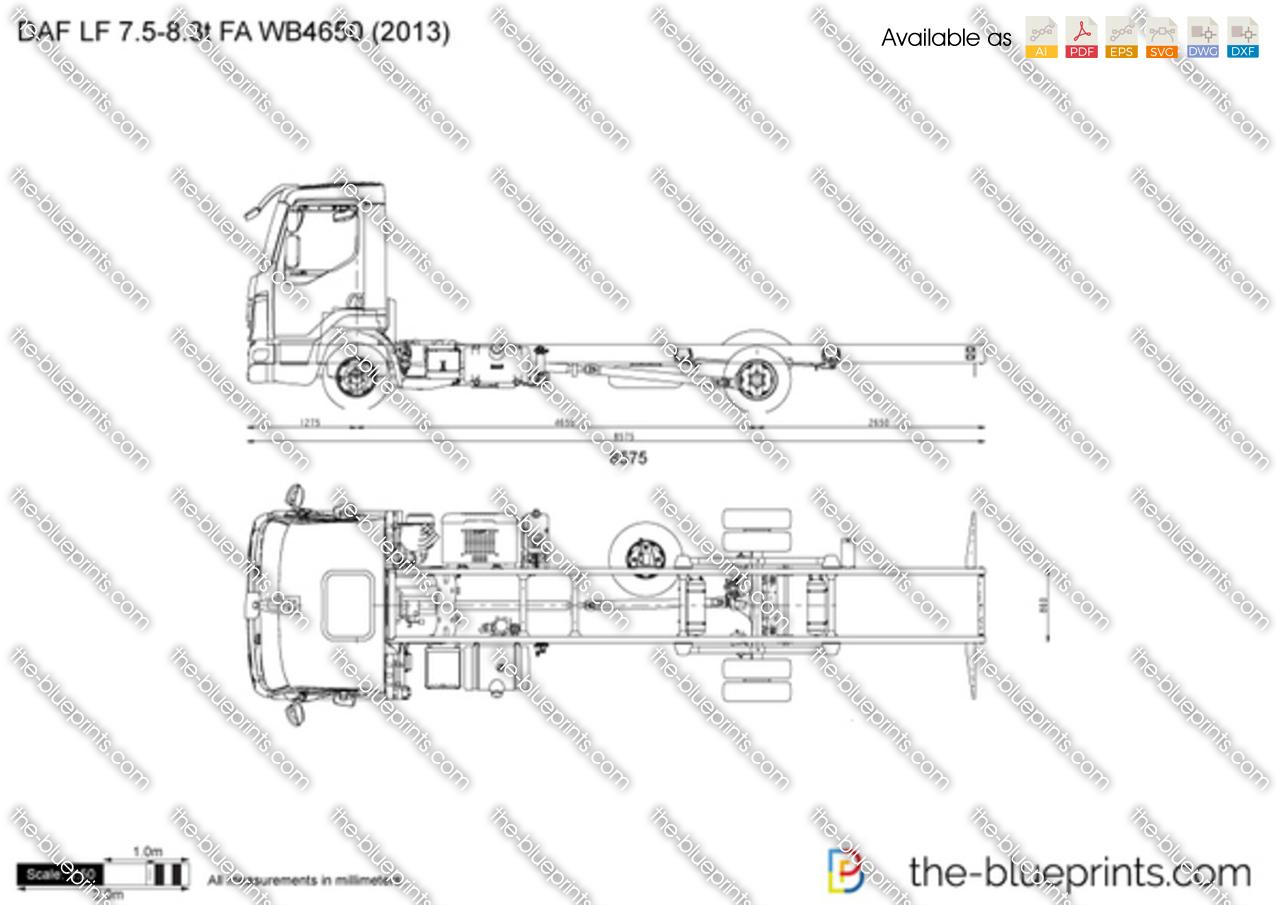 DAF LF 7.5-8.3t FA WB4650