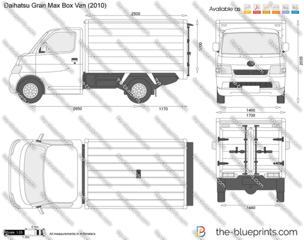 Daihatsu Gran Max Box Van