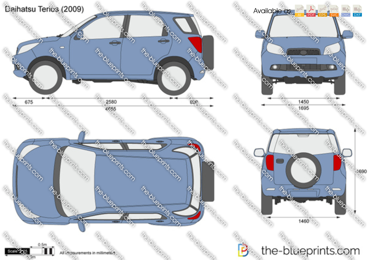 Toyota rush boot compartment measurement imghttpthe blueprints modulesvectordrawingspreview wmdaihatsuterios2011g malvernweather Images