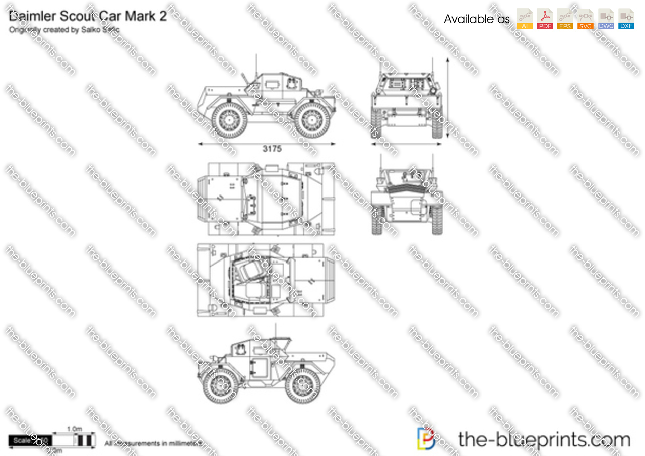 Daimler Scout Car Mark 2