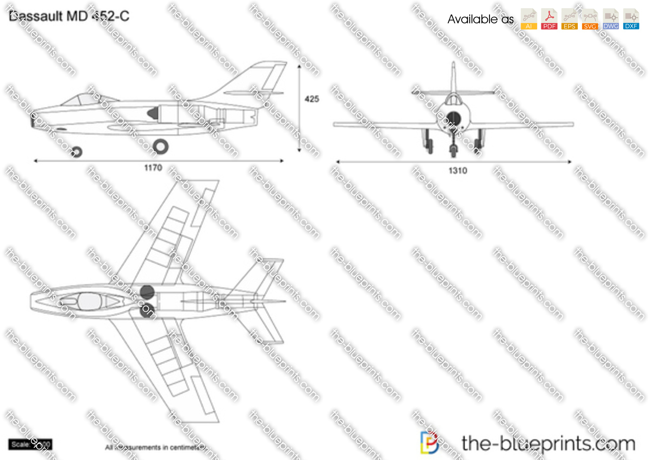 Dassault MD 452-C Mystere II