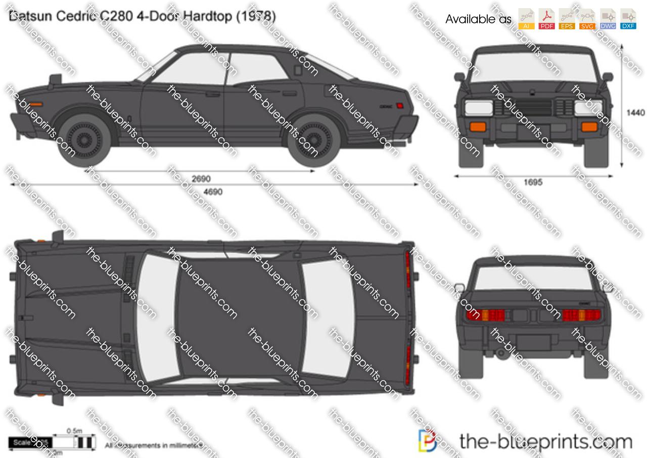 Datsun Cedric C280 4-Door Hardtop