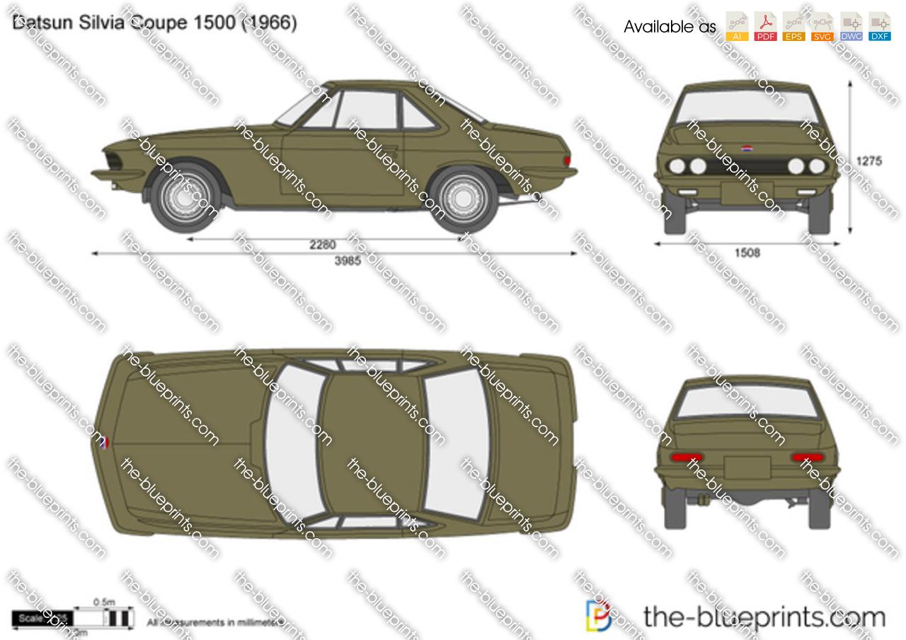 Datsun Silvia Coupe 1500