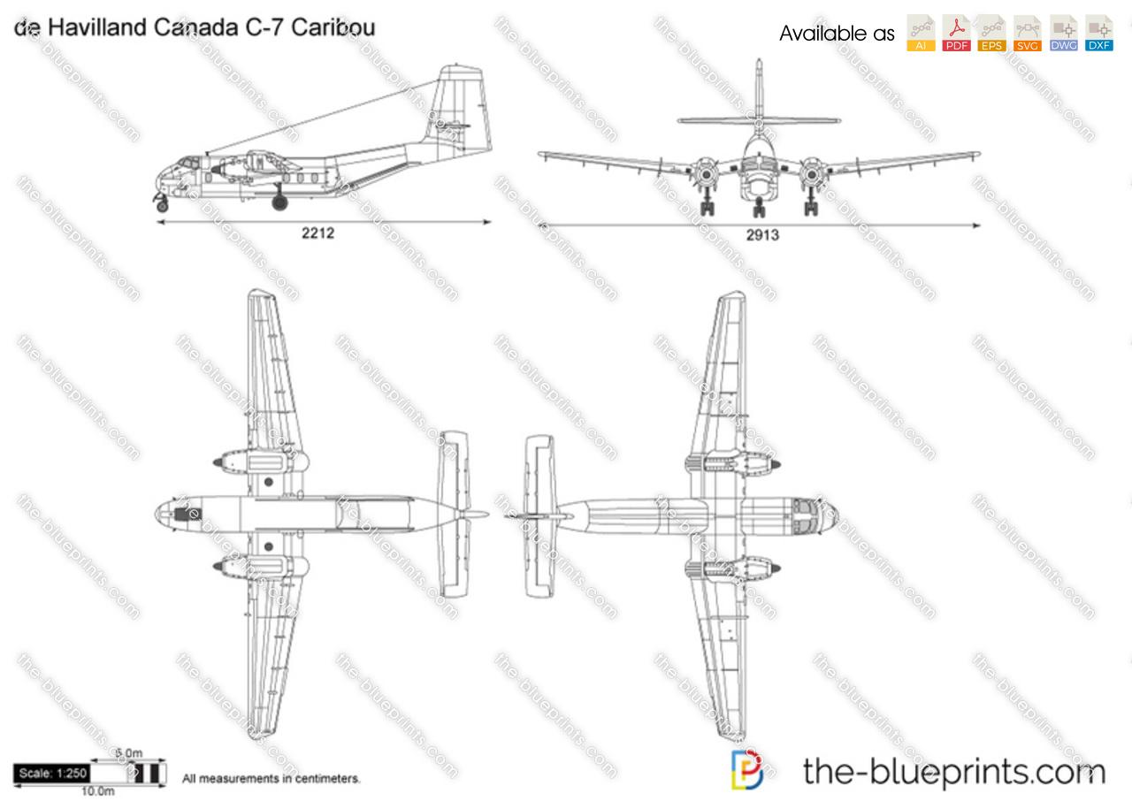 de Havilland Canada C-7 Caribou