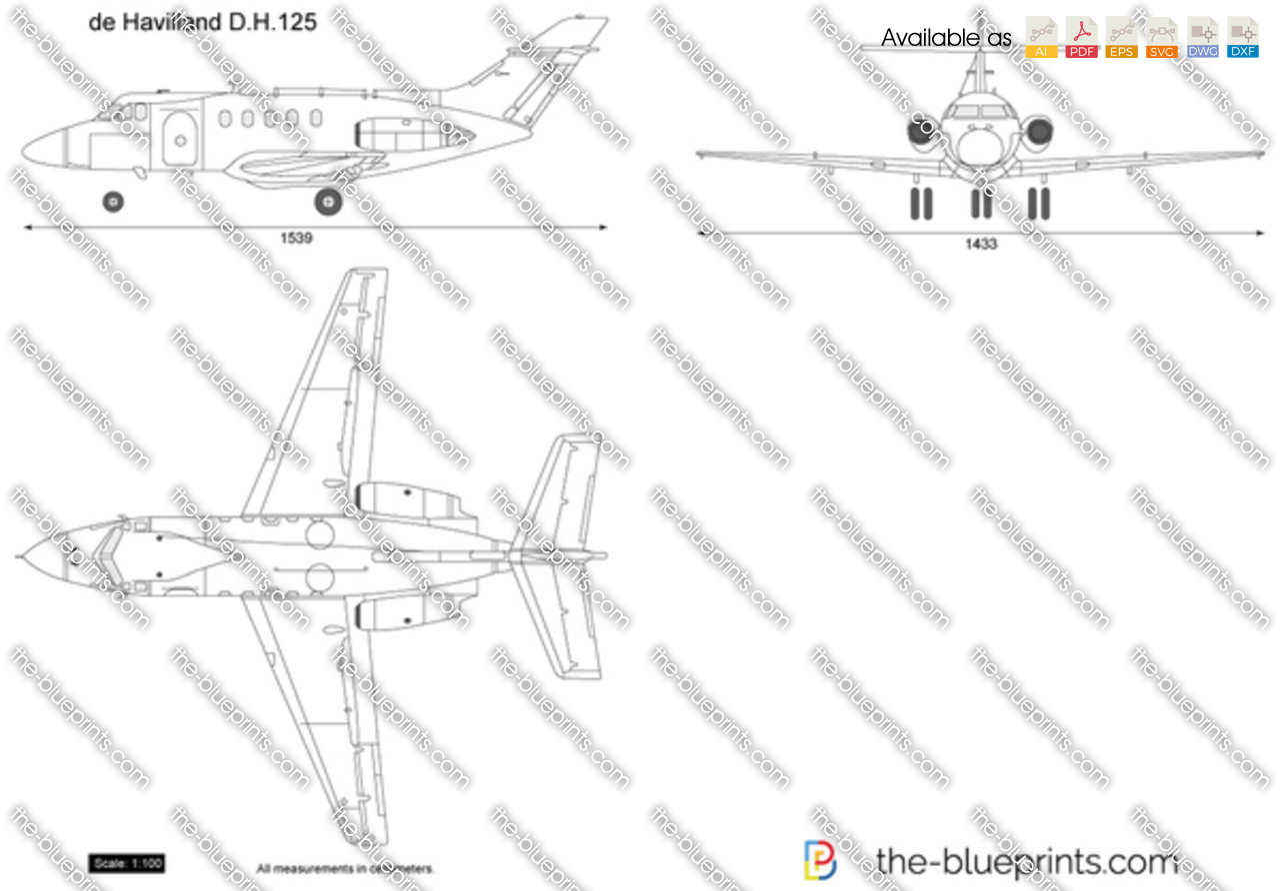 de Havilland D.H.125