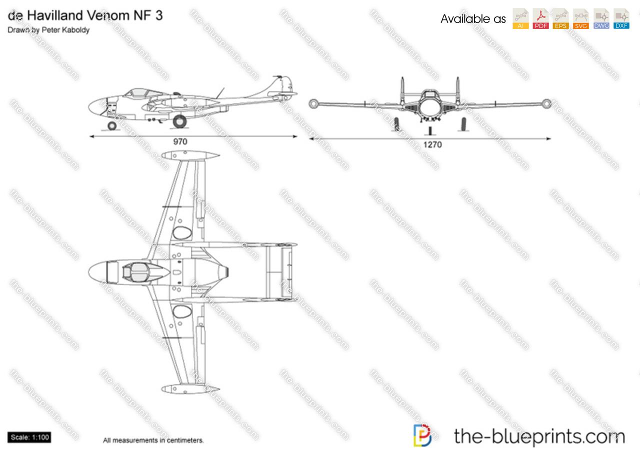 de Havilland Venom NF 3