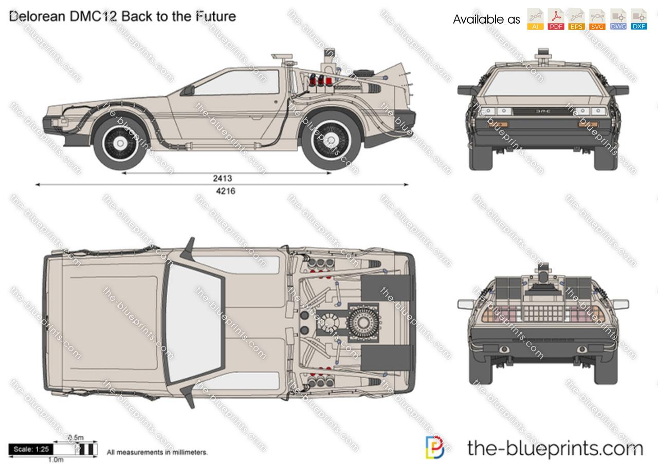Delorean DMC12 Back to the Future