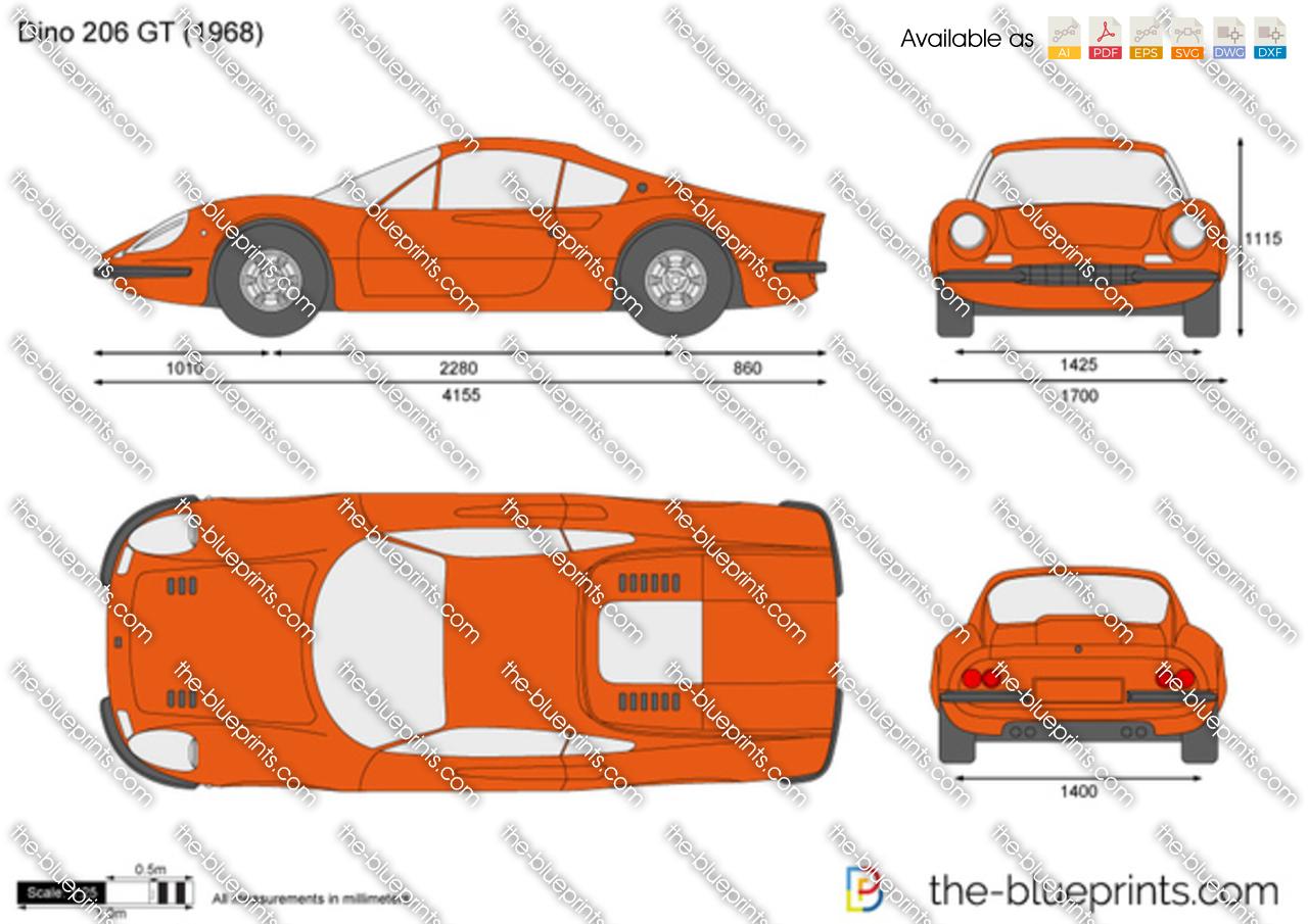 Dino 206 GT 1969