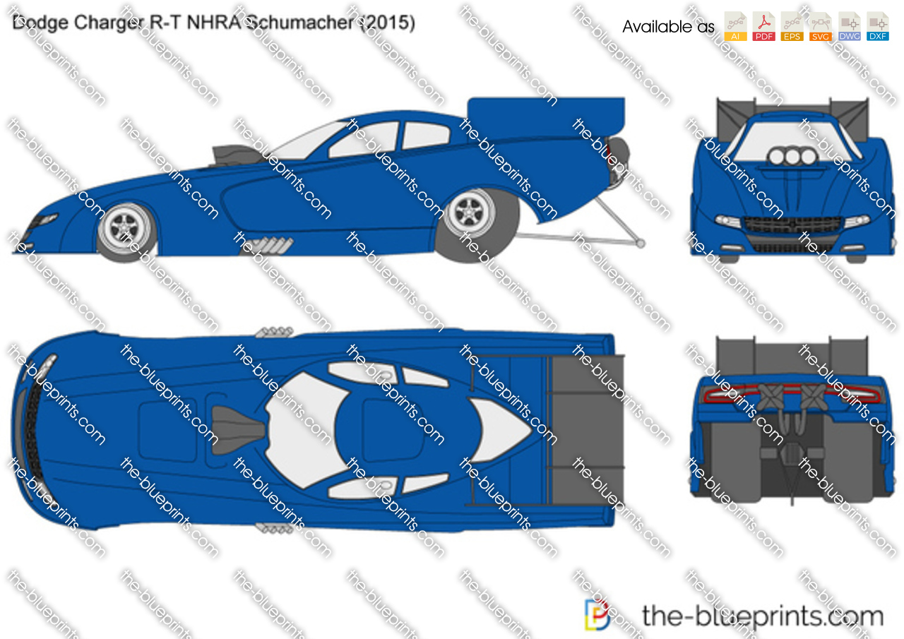 Dodge Charger R-T NHRA Schumacher