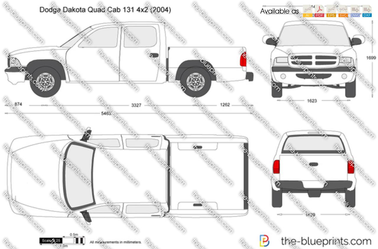 Dodge Dakota Quad Cab 131 4x2