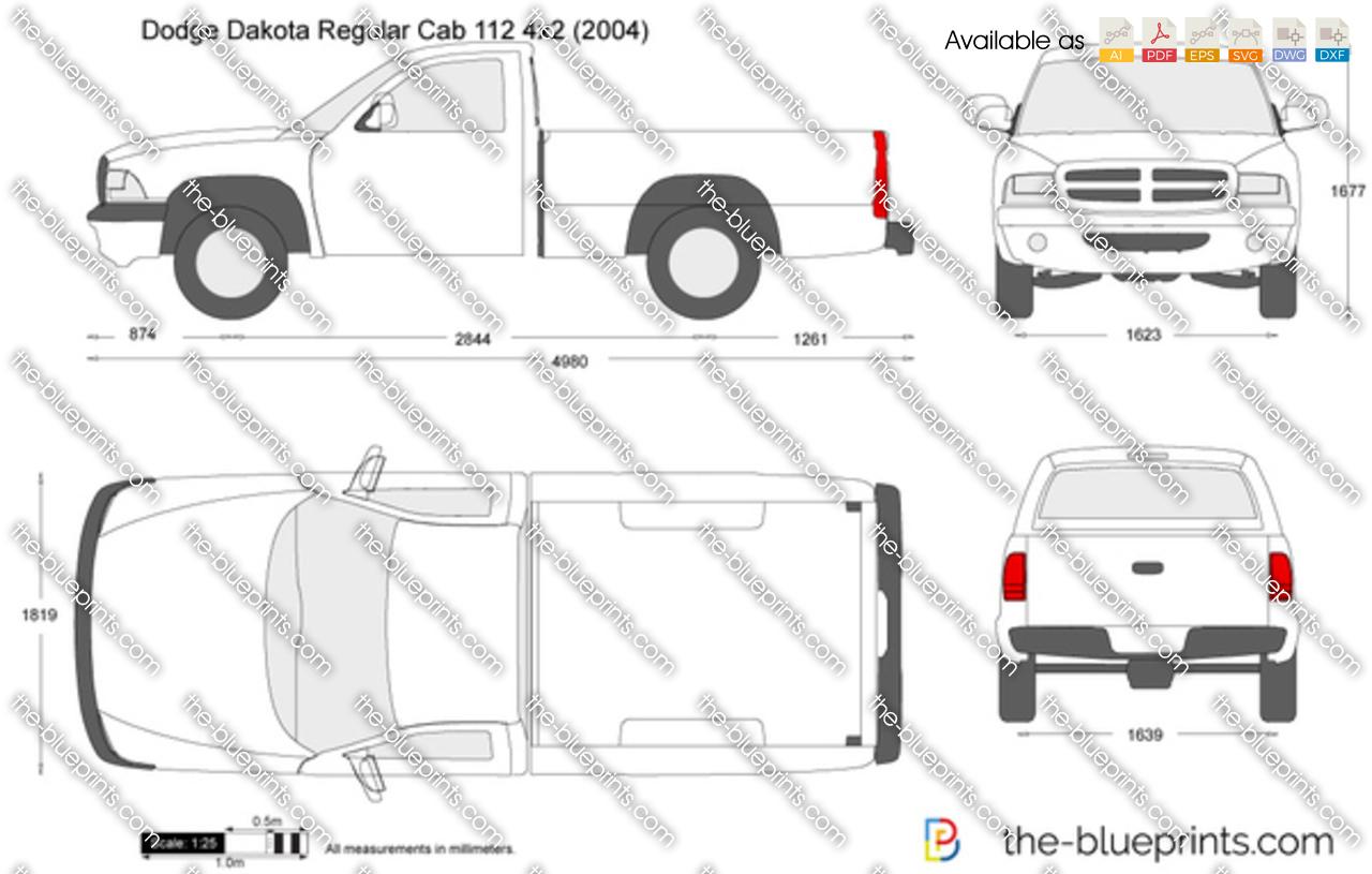 Dodge Dakota Regular Cab 112 4x2