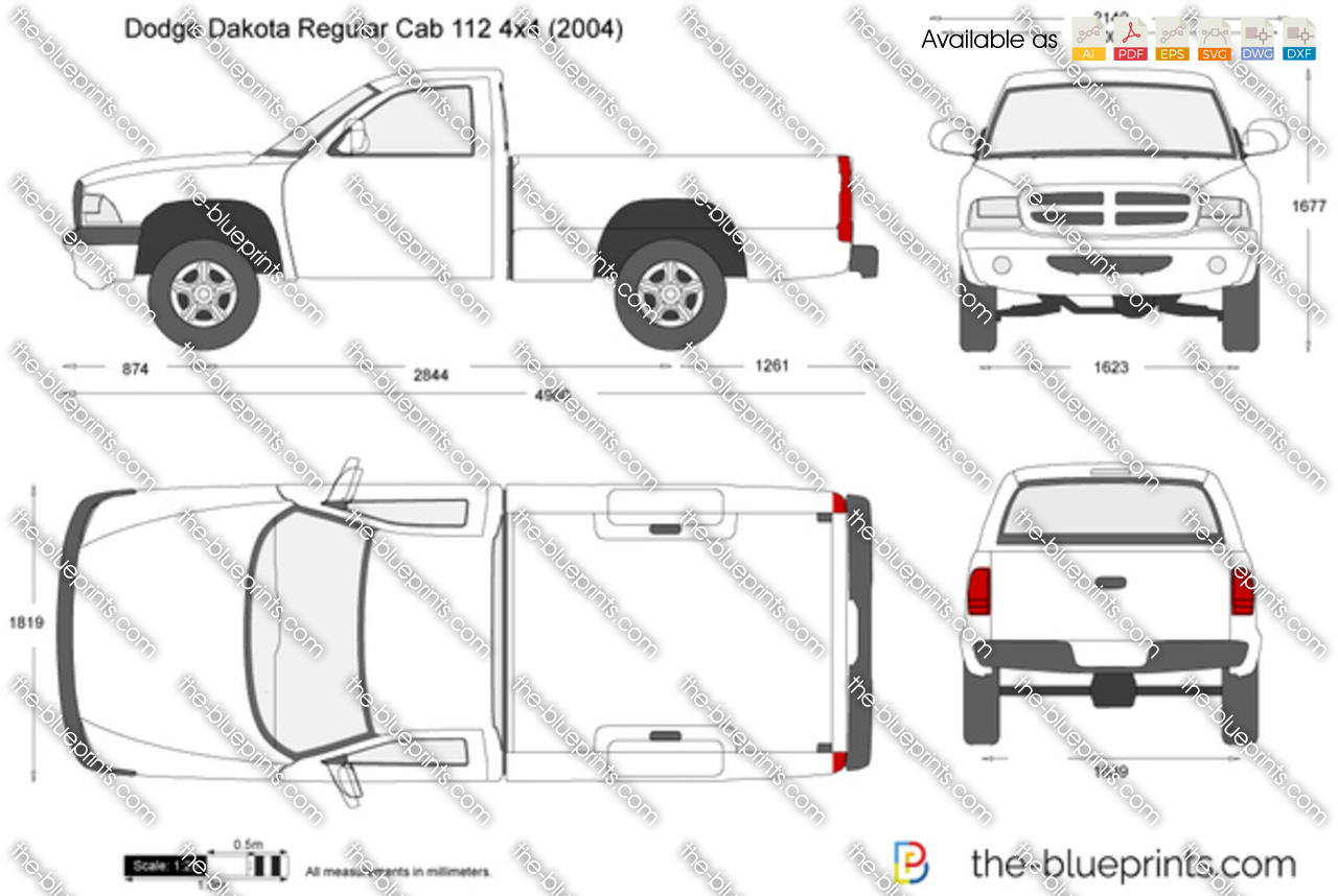 Dodge Dakota Regular Cab 112 4x4 1997