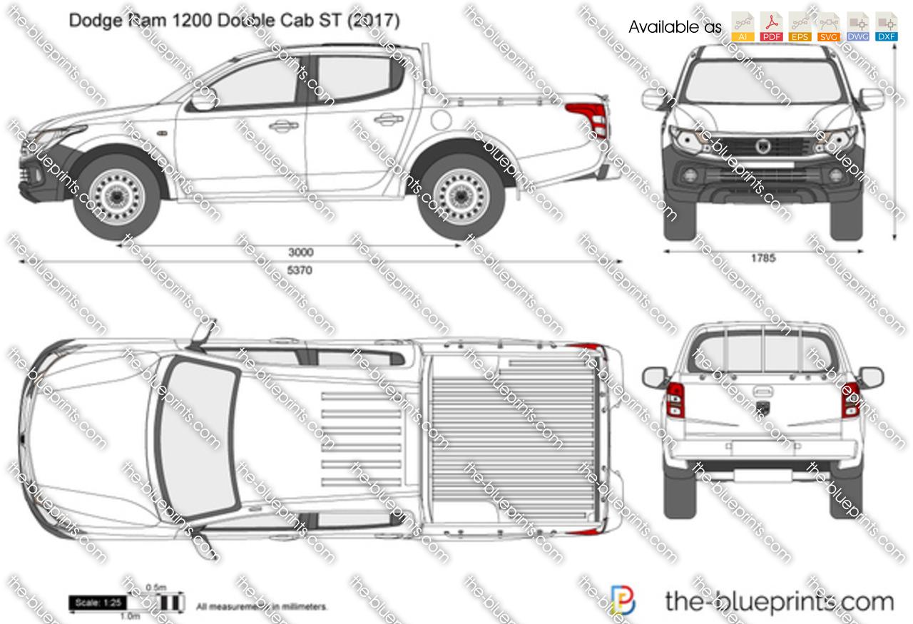 Dodge Ram 1200 Double Cab ST 2019