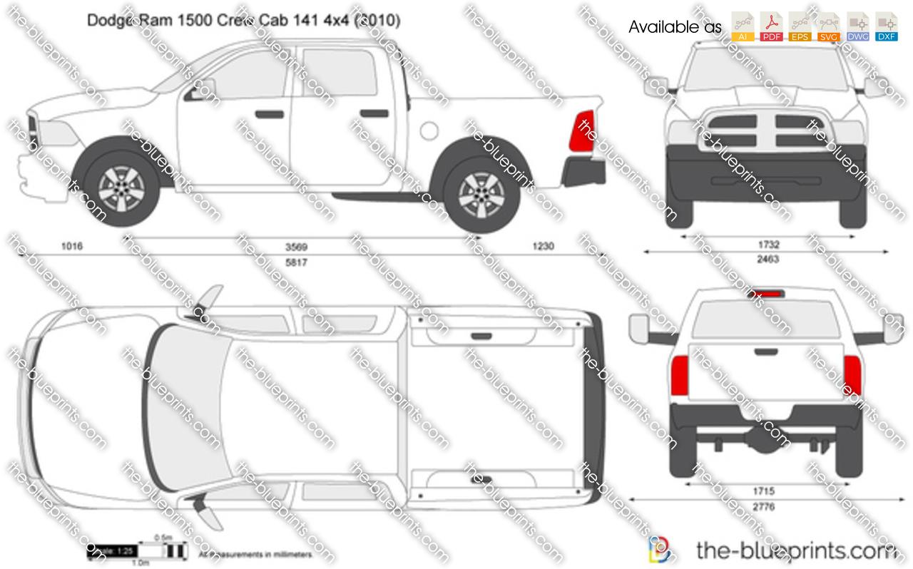 Dodge Ram 1500 Crew Cab 141 4x4
