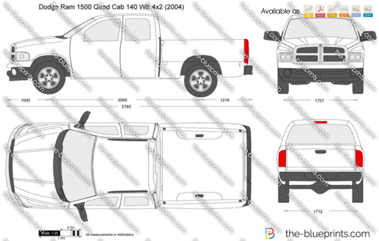 Dodge Ram 1500 Quad Cab 140 WB 4x2 2002