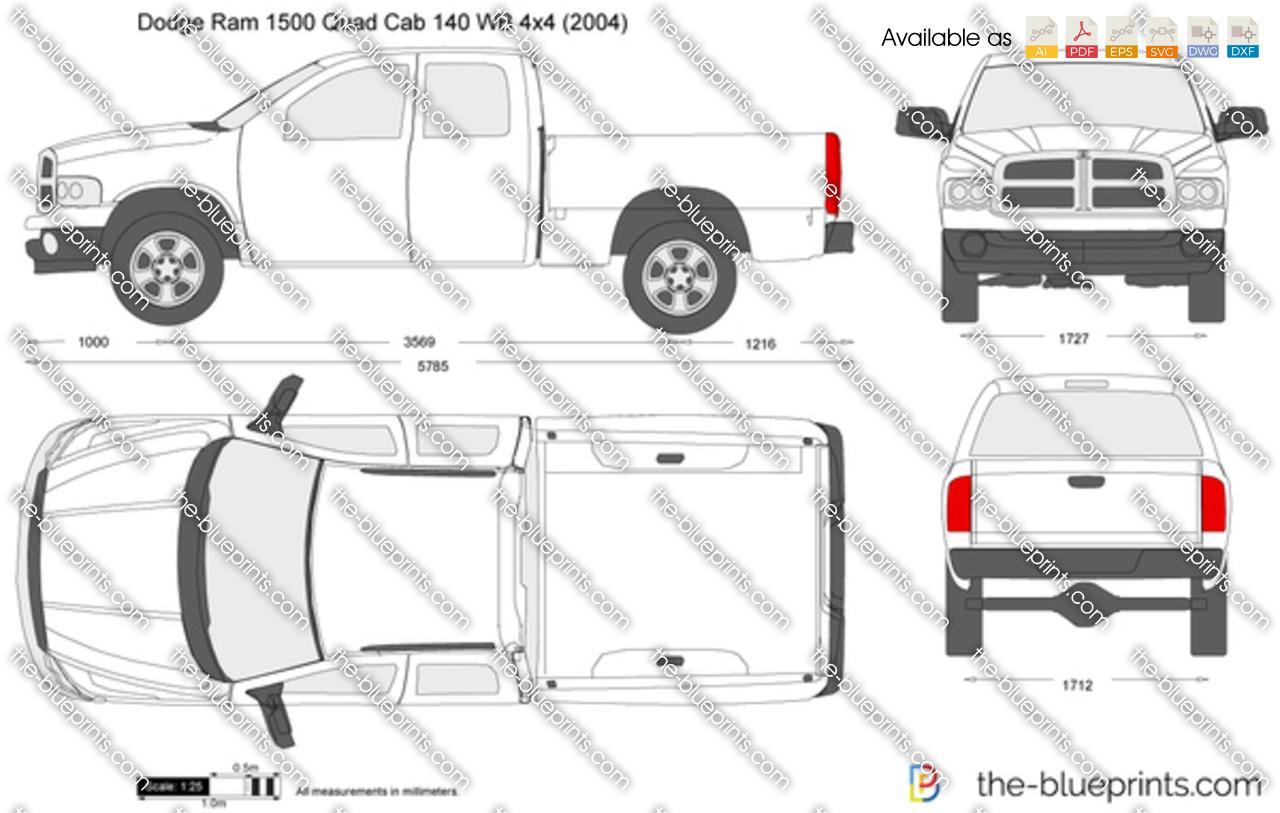 Dodge Ram 1500 Quad Cab 140 WB 4x4