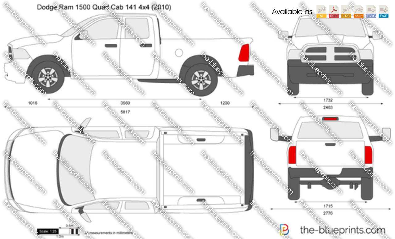 Dodge Ram 1500 Quad Cab 141 4x4