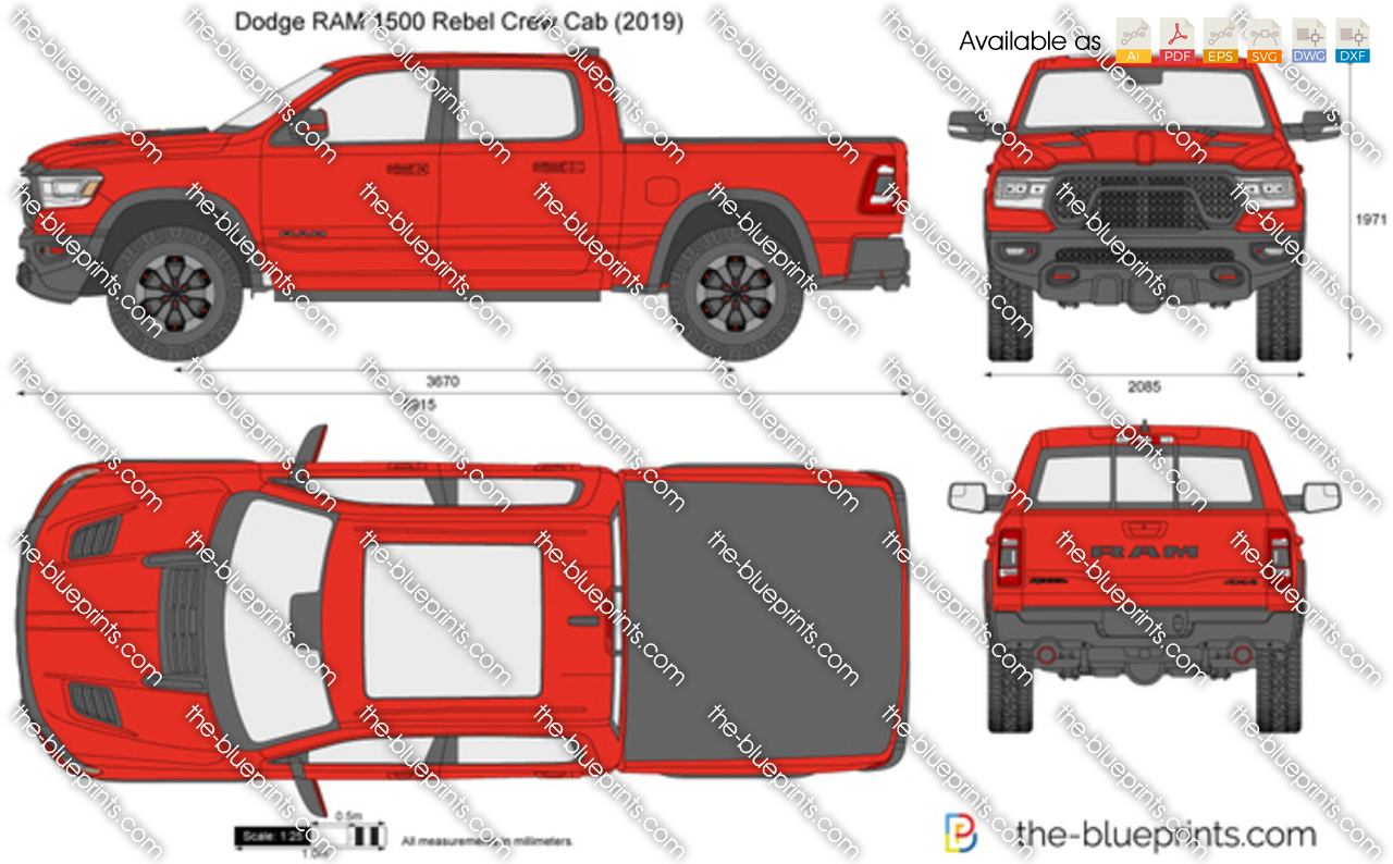 Dodge RAM 1500 Rebel Crew Cab