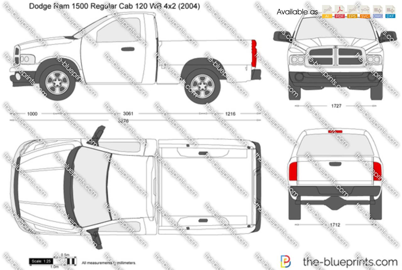 Dodge Ram 1500 Regular Cab 120 WB 4x2