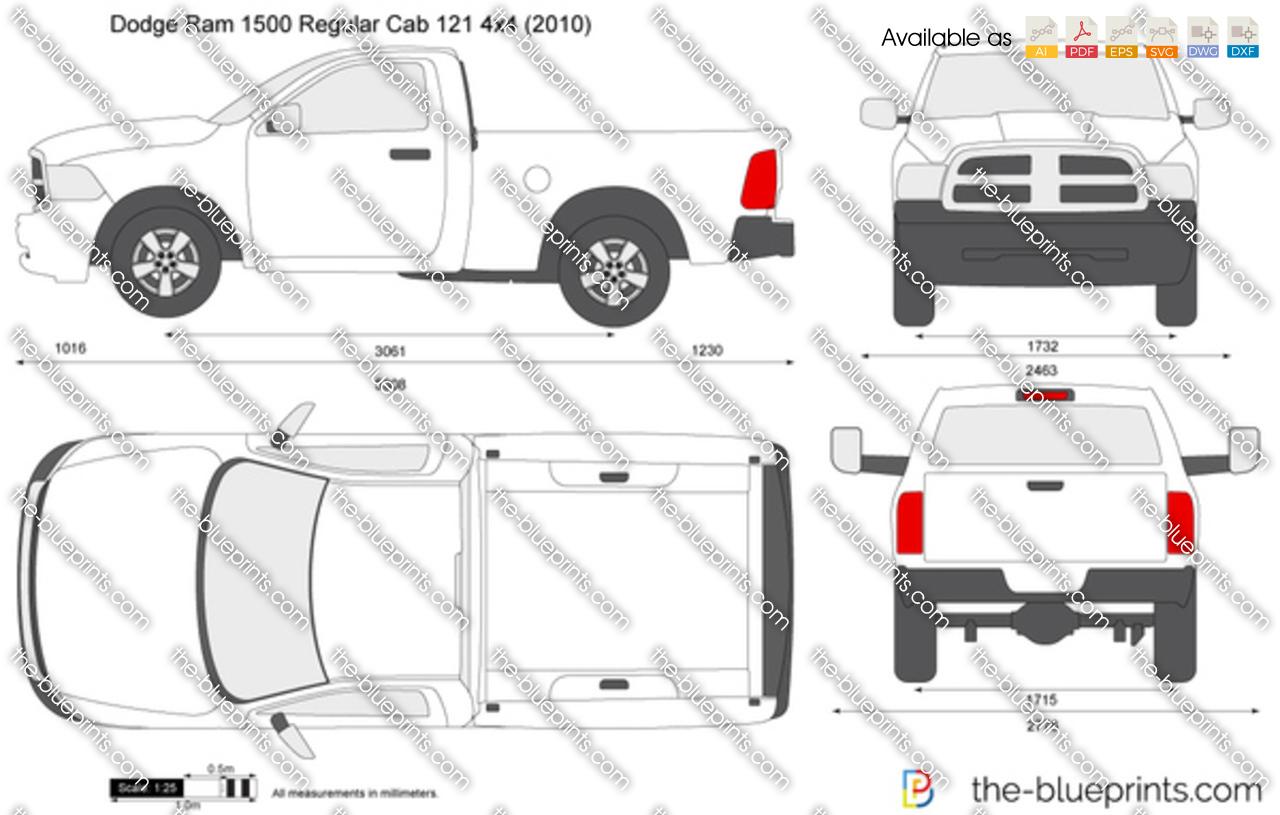 Dodge_ram_1500_regular_cab_121_4x4 on Dodge Pickup
