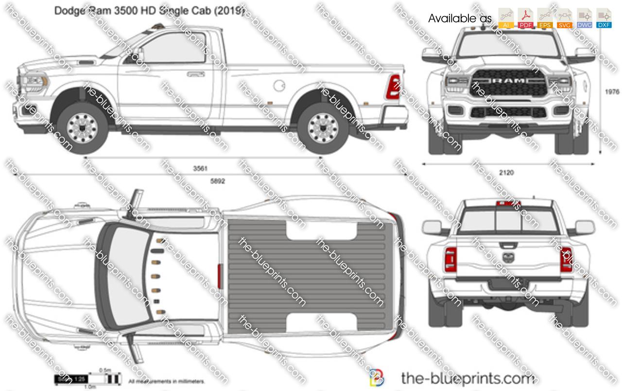 Dodge Ram 3500 HD Single Cab