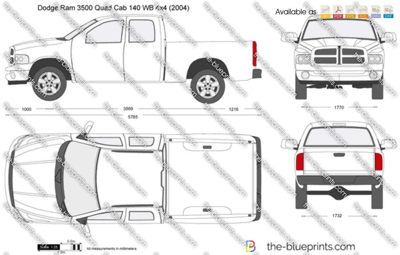 Dodge  Quad Cab Bed Size