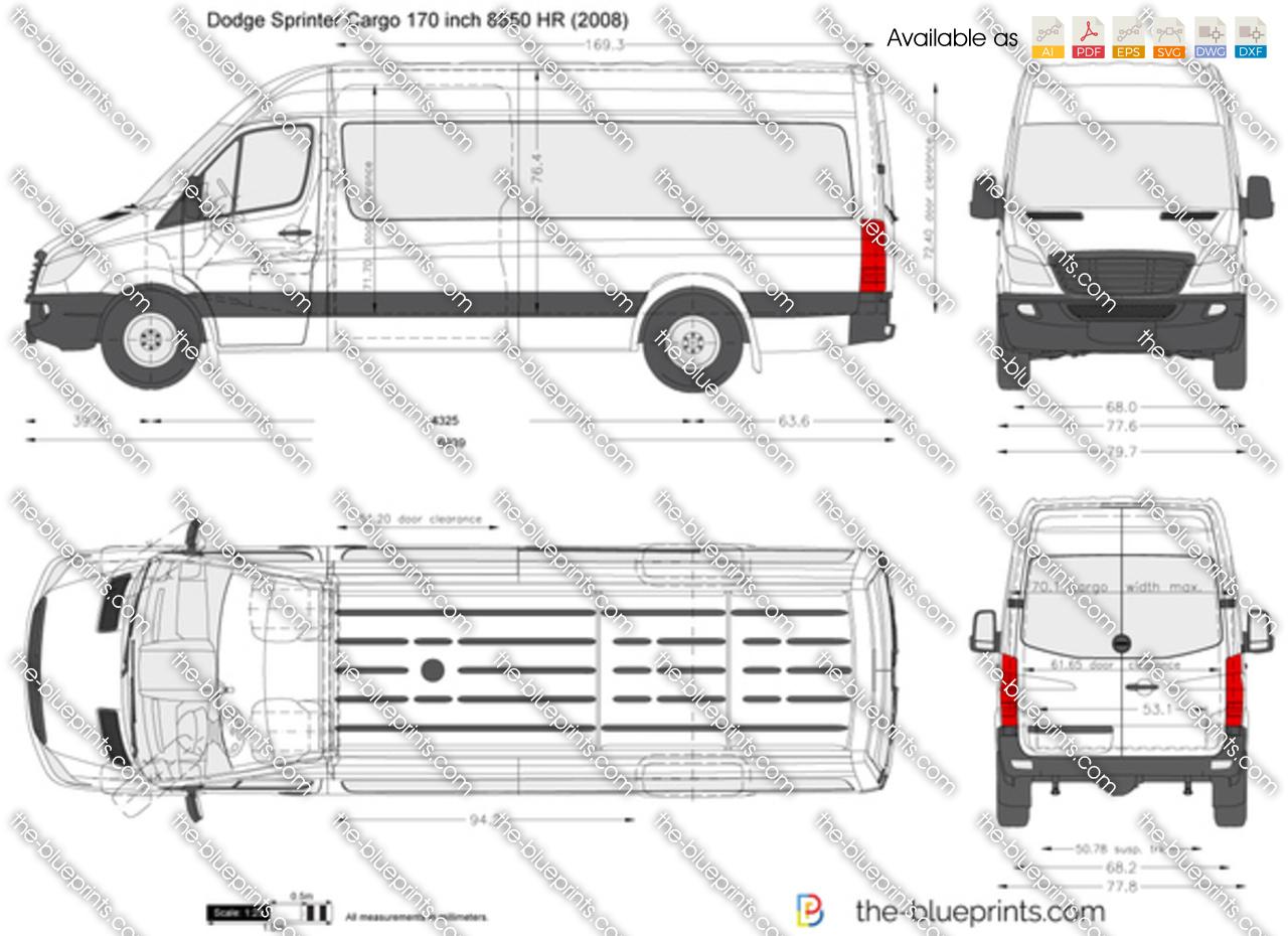 Dodge Sprinter Cargo 170 inch 8850 HR