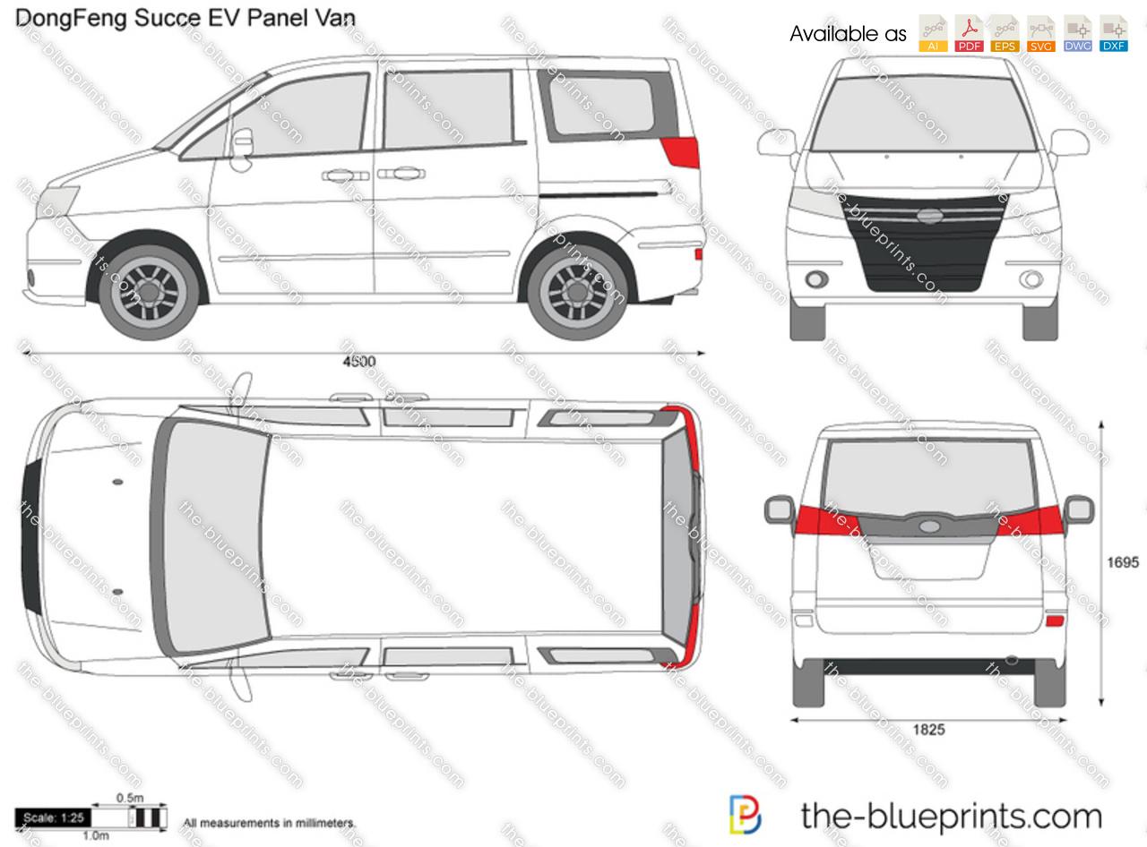 DongFeng Succe EV Panel Van