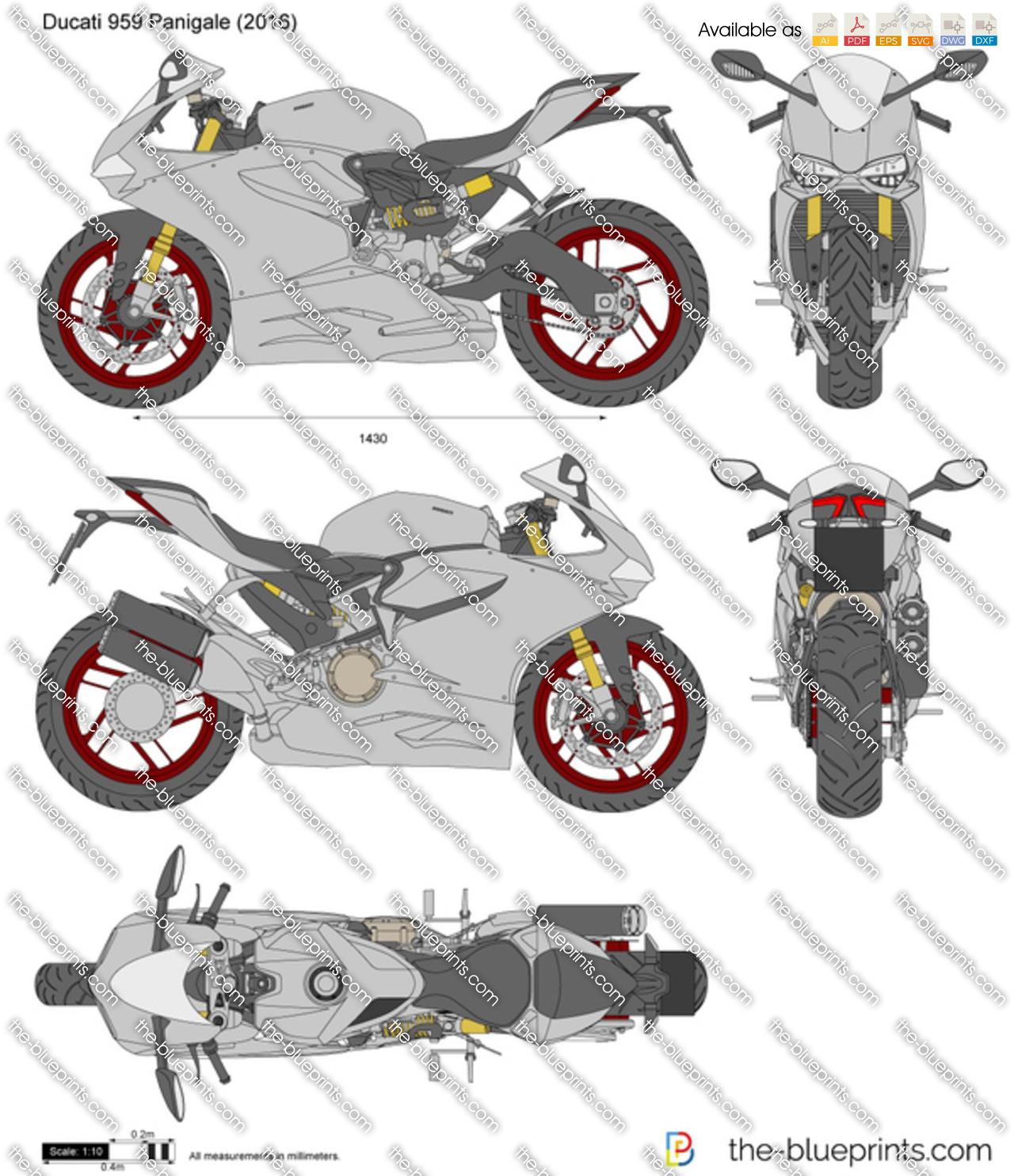 Ducati 959 Panigale 2019