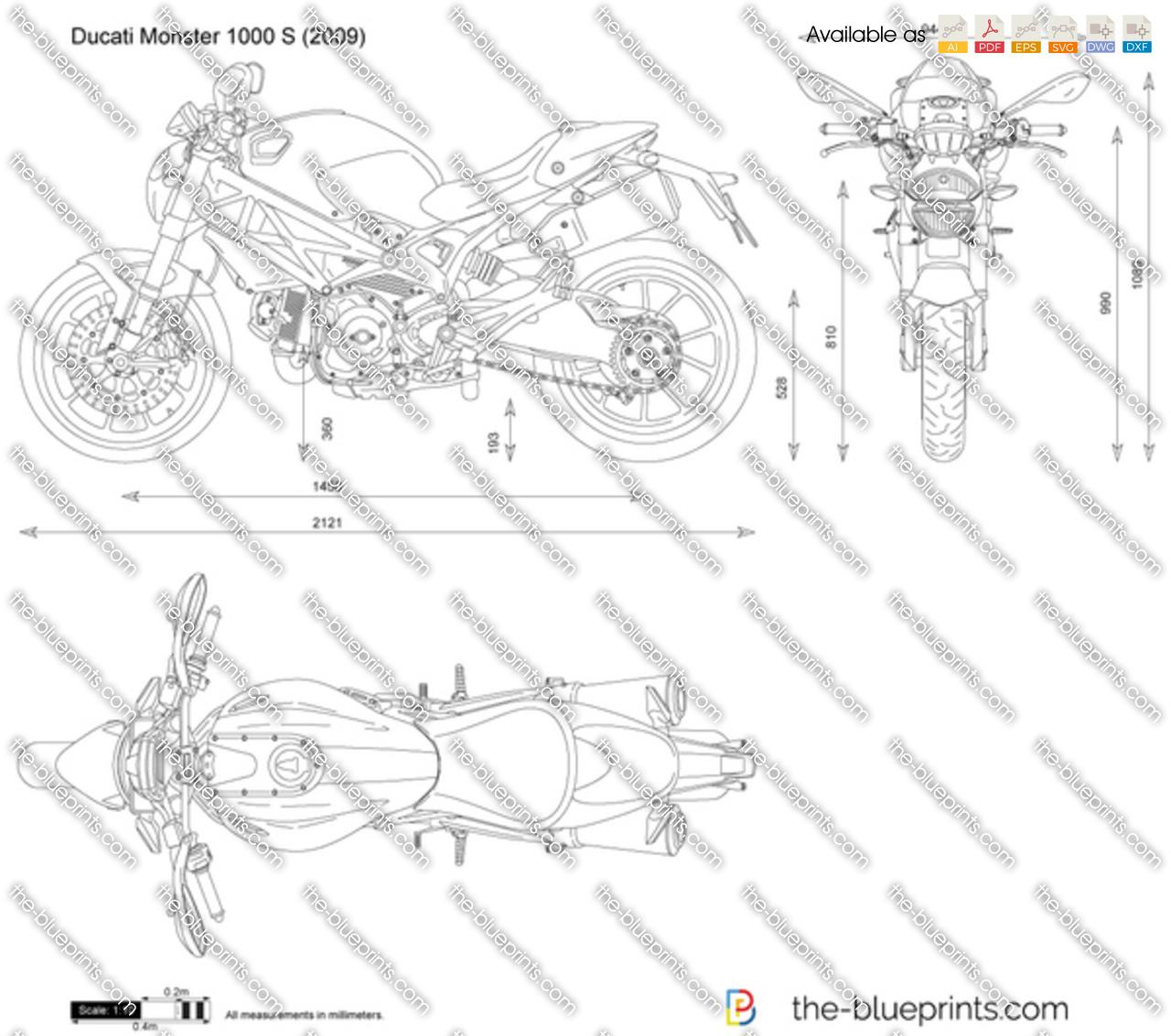Ducati Monster 1000 S