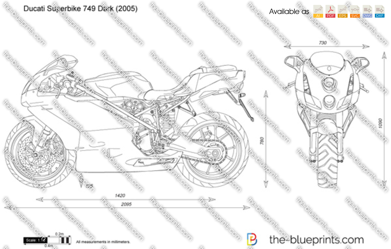 Ducati Superbike 749 Dark