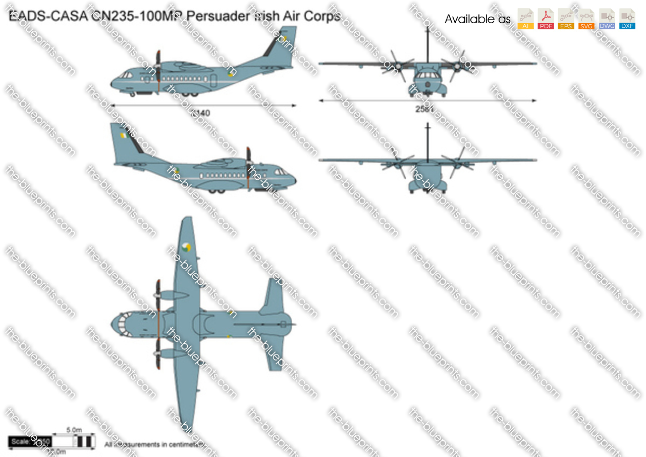 EADS-CASA CN235-100MP Persuader Irish Air Corps