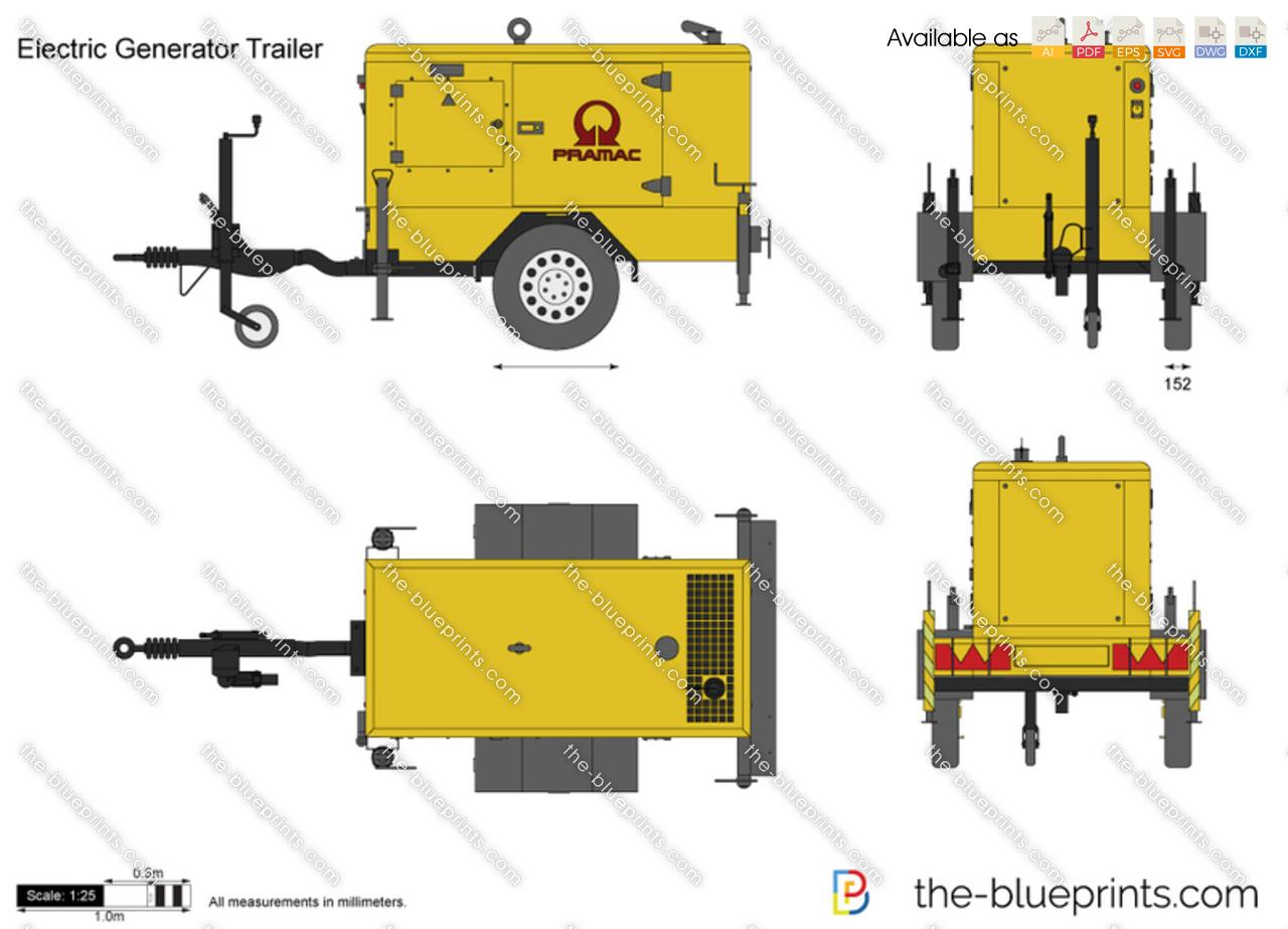 Electric Generator Trailer