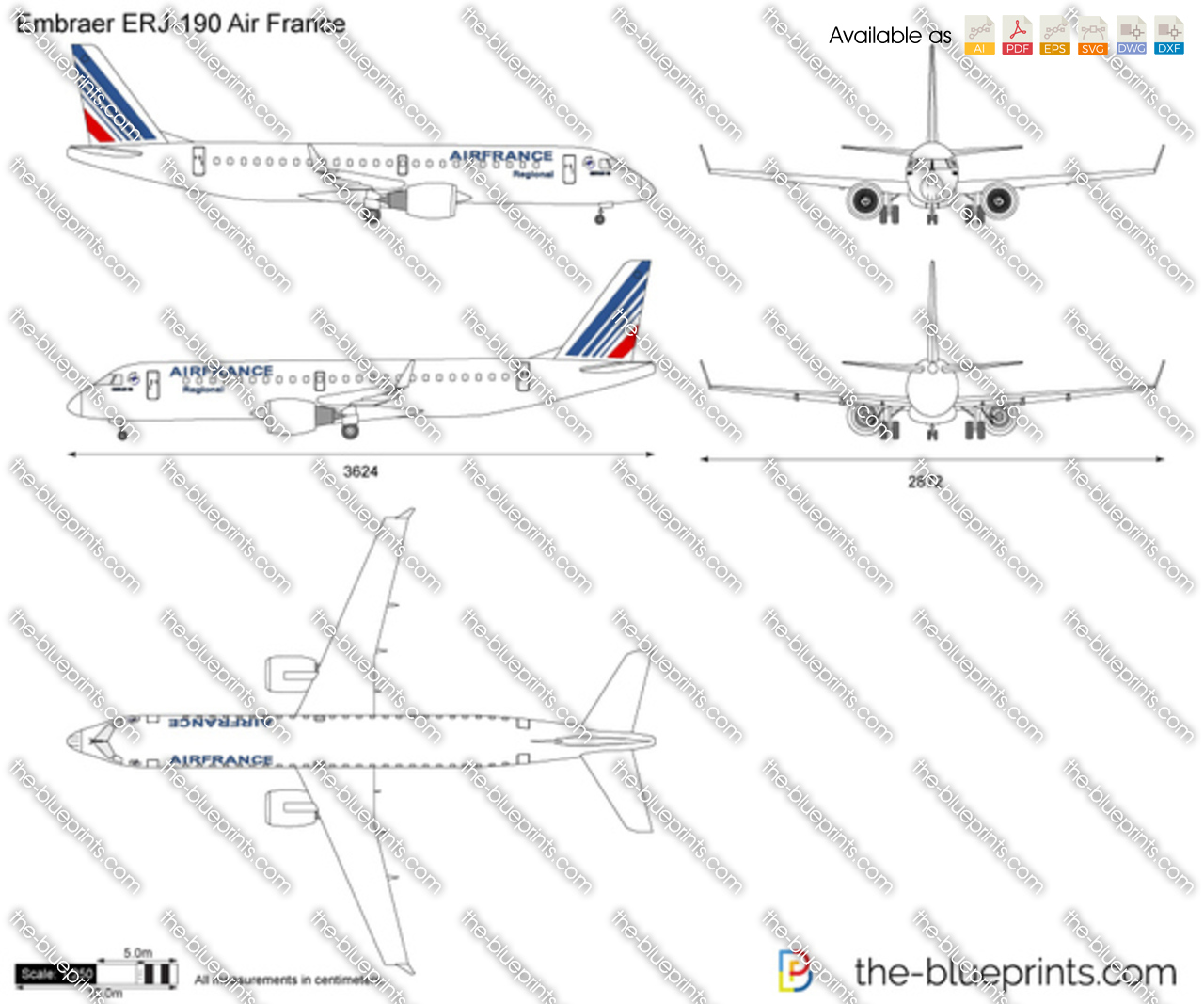 Embraer ERJ-190 Air France