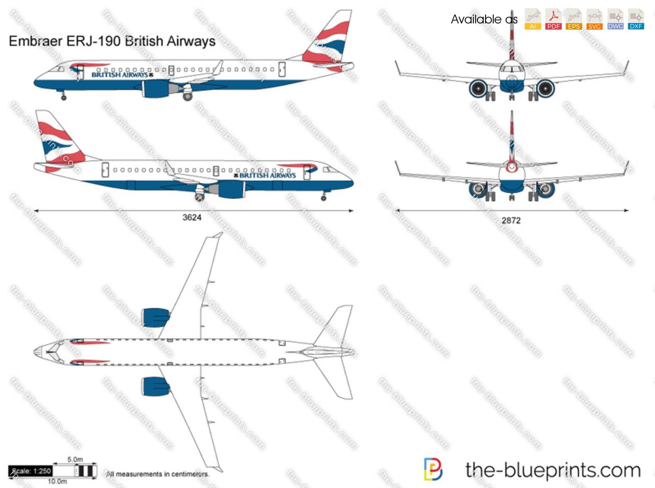 Embraer ERJ-190 British Airways