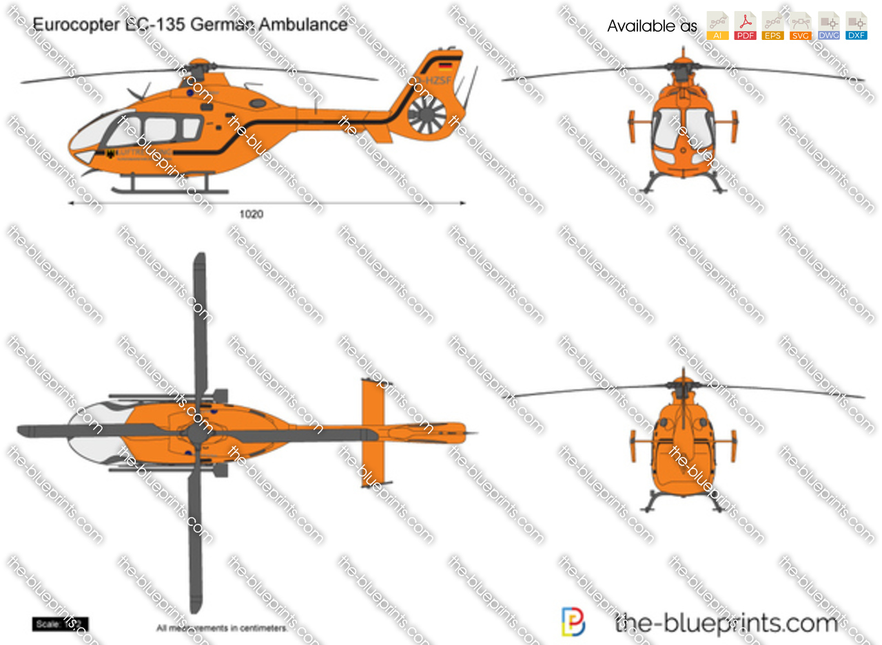 Eurocopter EC135 German Ambulance